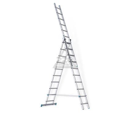 Лестница алюминиевая 3 х секционная RIGGER 101310