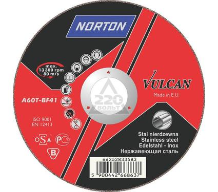 ���� �������� NORTON 125 � 1.0 � 22,NORTON VULKAN INOX   �� ����������� �����