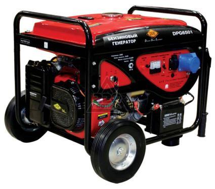 Бензиновый генератор DDE DPG6501
