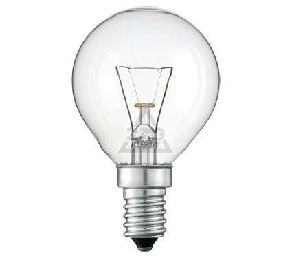Лампа накаливания PHILIPS P45  25W E14 CL