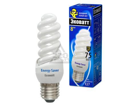 Лампа энергосберегающая ECOWATT M-FSP 15W840 E27