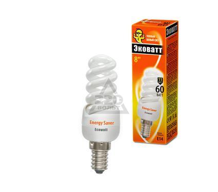 Лампа энергосберегающая ECOWATT Mini FSP 11W 827 E14