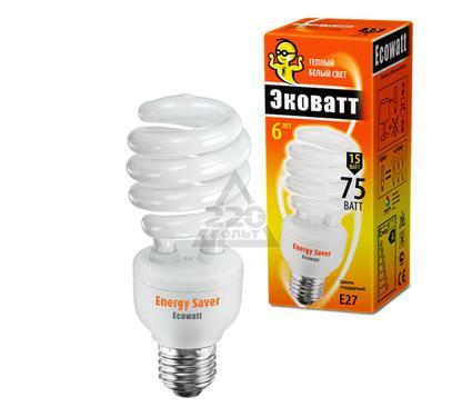 Лампа энергосберегающая ECOWATT SP 15W 827 E27