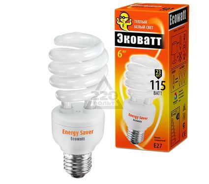 Лампа энергосберегающая ECOWATT SP 23W 827 E27