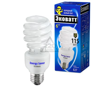 Лампа энергосберегающая ECOWATT SP 23W 840 E27