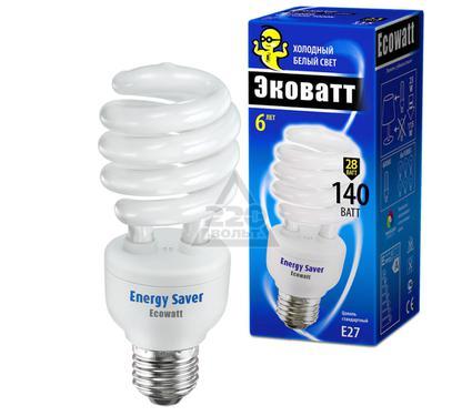 Лампа энергосберегающая ECOWATT SP 28W 840 E27