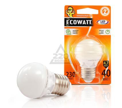 ����� ������������ ECOWATT P45 230� 4.7(40)W 2700K E27