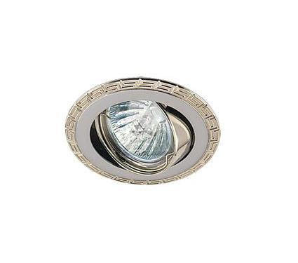 Светильник встраиваемый АКЦЕНТ Versace 16159XQ жемчужный хром/хром