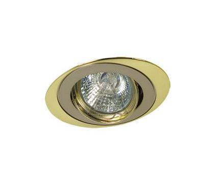 Светильник встраиваемый АКЦЕНТ WL-110 жемчужный никель/золот