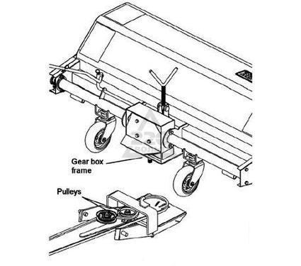 Адаптер (переходник) BERCOMAC 700464 для крепления щётки