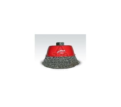 Кордщетка ATAKA 125мм М14, чашеообразная гофрированная