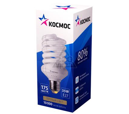 Лампа энергосберегающая КОСМОС 35Ватт 2700К Е27 Т3