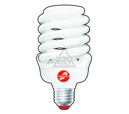 Лампа энергосберегающая ЭКОНОМКА 35Ватт 4200К Е27 Т3