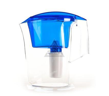 Фильтр-кувшин для жесткой воды ГЕЙЗЕР Дельфин Ж синий