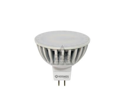 Лампа светодиодная КОСМОС LED MR16/ст. 5Вт 12В GU5.3  4500K