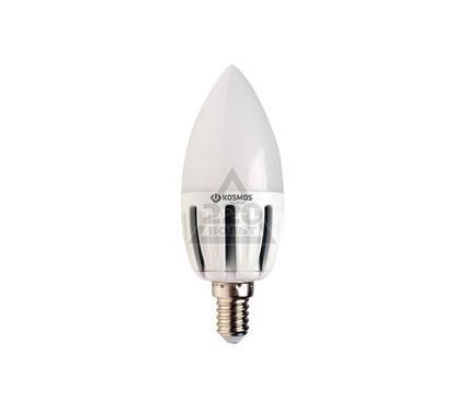 Лампа светодиодная КОСМОС LED 5Вт свеча E14 230В  4500K