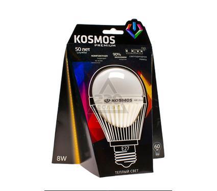 Лампа светодиодная КОСМОС LED A60 10Вт E27  230v 2700K