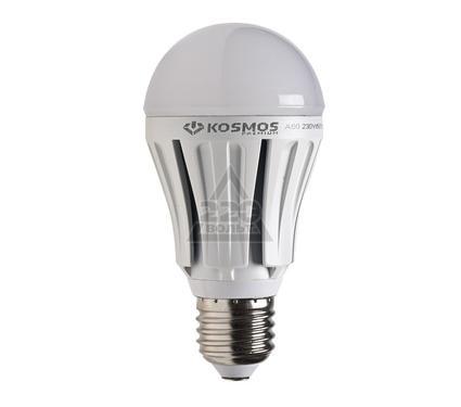 Лампа светодиодная КОСМОС LED A60 12Вт E27  230В 3000K
