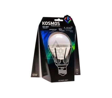 Лампа светодиодная КОСМОС premium LED 10Вт A60 E27