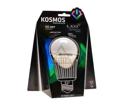 Лампа светодиодная КОСМОС premium LED 8Вт A55 E27 230В 4500K