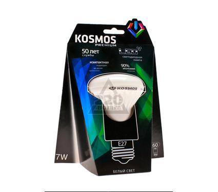Лампа светодиодная КОСМОС LED 7Вт R63 E27 230v 4500K
