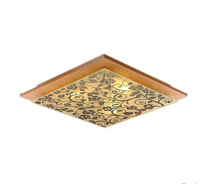 Светильник настенно-потолочный EUROSVET 2781/3  светлое дерево