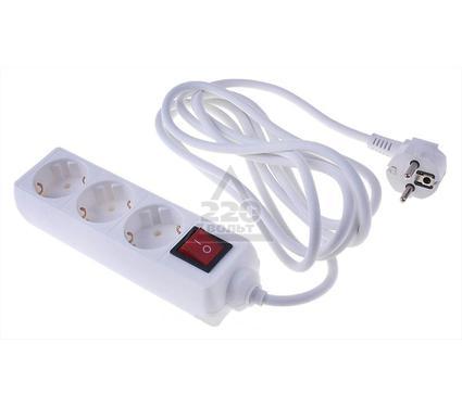 Удлинитель IEK ПВС 3х1,0 с выключателем У-С03К