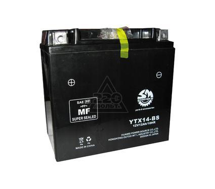 Аккумулятор OUTDO YTX14-BS