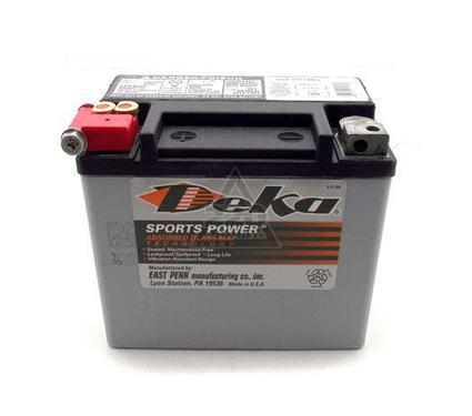 Аккумулятор DEKA ETX 16