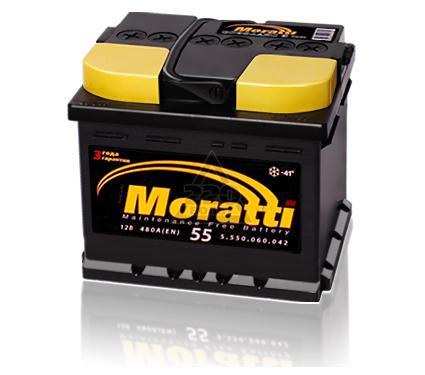 Аккумулятор MORATTI VRLA YT4L-BS/YTX4L-BS