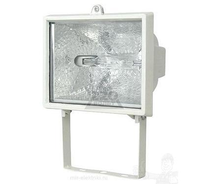Галогенный прожектор UNIEL UPH-500W-WH