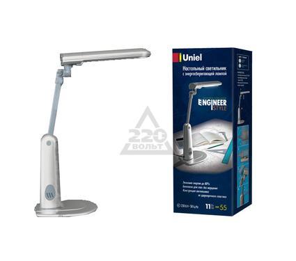 Лампа настольная UNIEL TTL-035 Silver