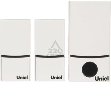 Звонок UNIEL UDB-090W-R1T2-32S-100M-WH