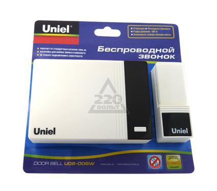 Звонок UNIEL UDB-006W-R1T1-32S-100M-WH