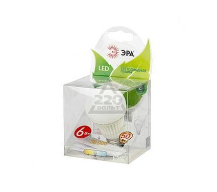 Лампа светодиодная ЭРА LED smd A55-6w-827-E27