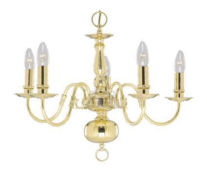 Люстра ARTE LAMP FLEMISH A1019LM-5PB