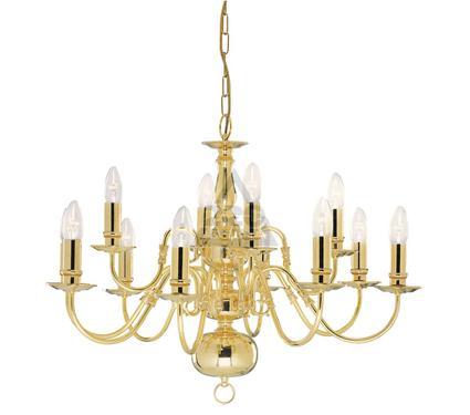 Люстра ARTE LAMP FLEMISH A1019LM-12PB