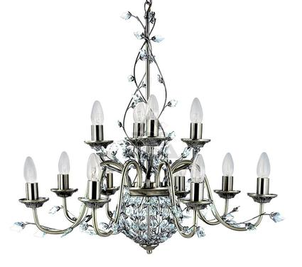 Люстра ARTE LAMP MARQUETTE A2092LM-12AB