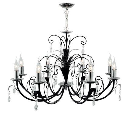 Люстра ARTE LAMP ROMANA A1742LM-8BK