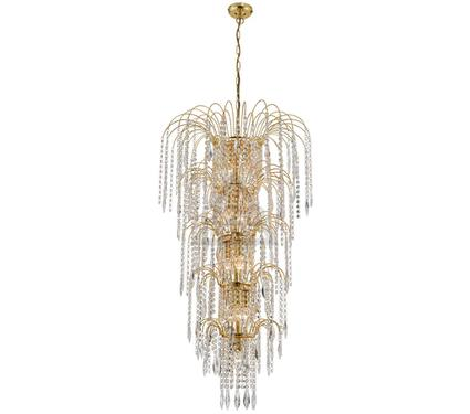 Люстра ARTE LAMP WATERFALL A5175SP-13GO
