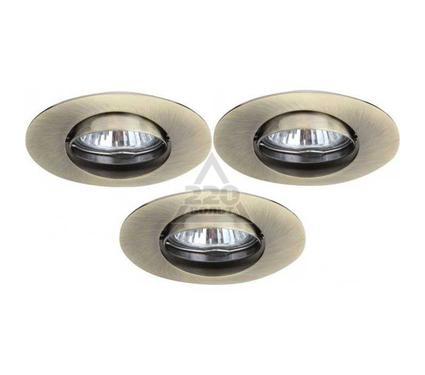 Светильник встраиваемый ARTE LAMP SATURN A2109PL-3AB