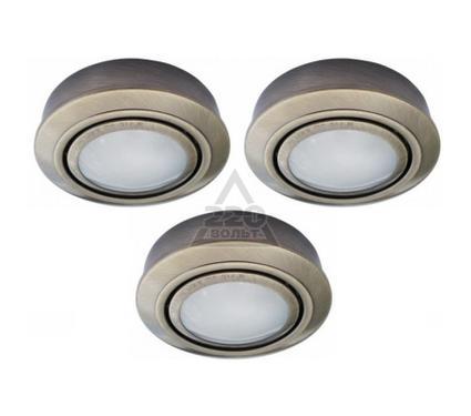 Светильник встраиваемый ARTE LAMP TOPIC A2123PL-3AB