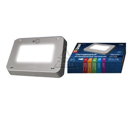 Светильник UNIEL ULT-V41-9,5W/NW SENSOR IP65 SILVER