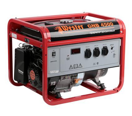 Бензиновый генератор WESTER GNB4500