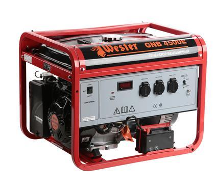 Бензиновый генератор WESTER GNB4500Е