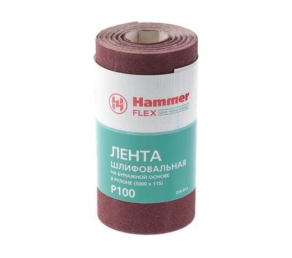 Шкурка шлифовальная в рулоне HAMMER 216-013