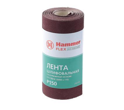 Шкурка шлифовальная в рулоне HAMMER 216-015