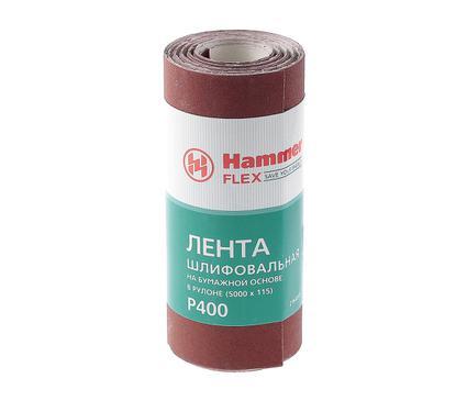 Шкурка шлифовальная в рулоне HAMMER 216-017