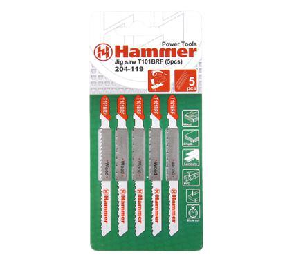 Пилки для лобзика HAMMER JG WD T101BRF (5pcs)