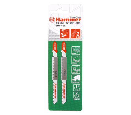 Пилки для лобзика HAMMER JG WD T101BRF (2pcs)